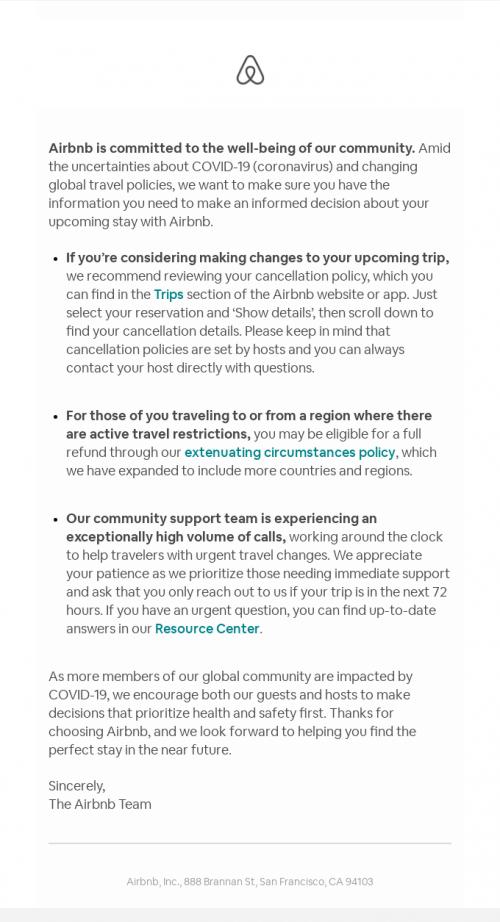 Crisis communication newsletter