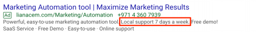 Marketing automation tool LianaCEM